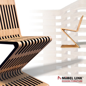 Möbel Link Modern Furniture - Zag Zig Chair